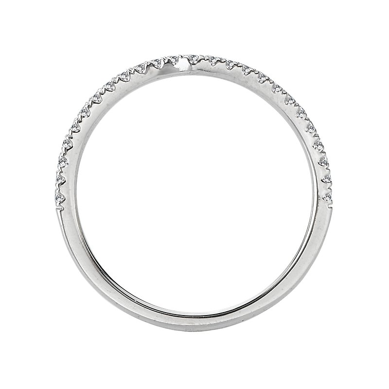 Sam's Signature Collection Curved Wedding Band