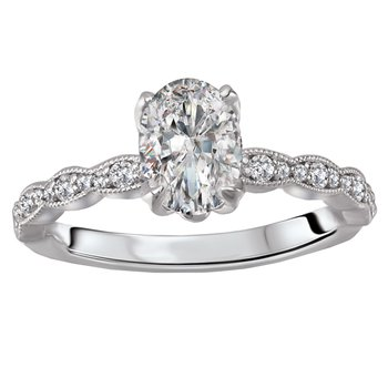 Classic Semi Mount Diamond Ring