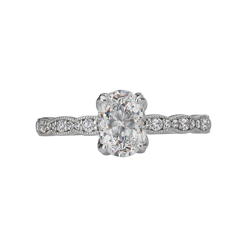 Sam's Signature Collection Classic Semi Mount Diamond Ring