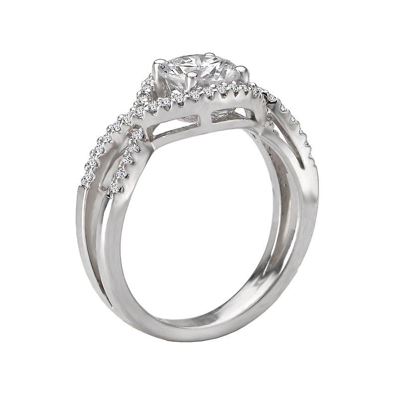 Sam's Signature Collection Classic Semi-Mount Diamond Ring