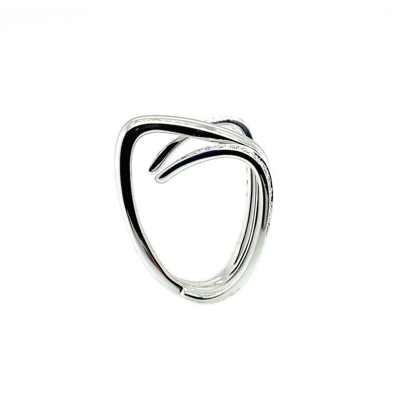 Adam K. Italian 18k Diamond Ring