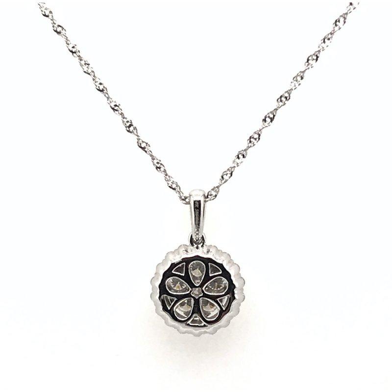 Quality Color Design 14k Diamond Pendant Necklace