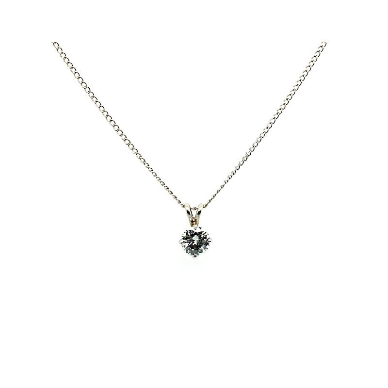 Adam K. 14k Diamond Pendant Necklace