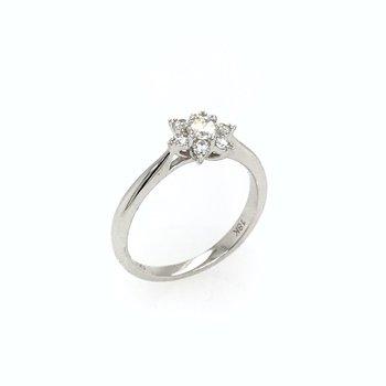 18k Diamond Ring
