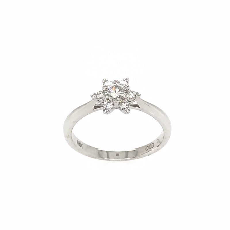 Quality Color Design 18k Diamond Ring