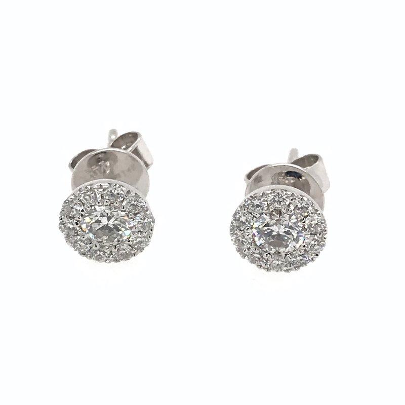 S. Kashi 14k Diamond Earrings