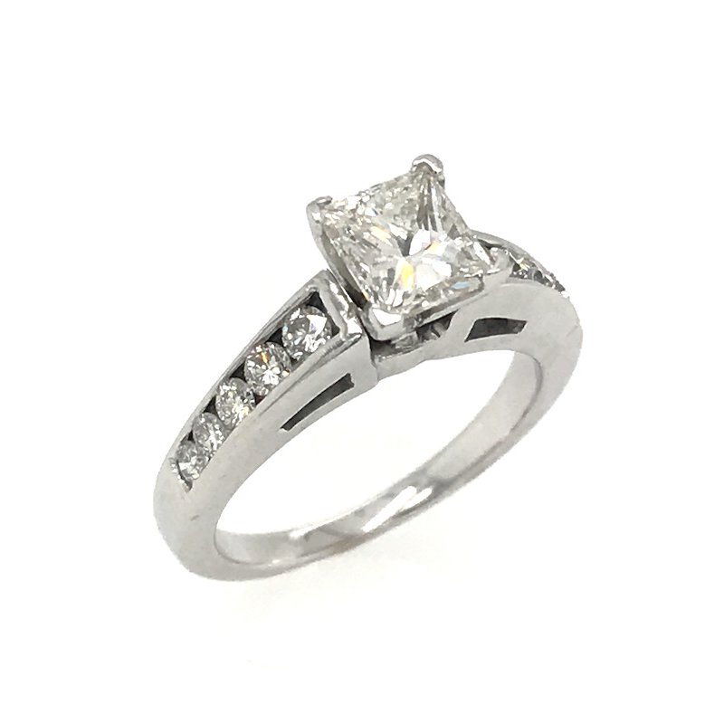 Stuller 14k Princess Cut Diamond Engagement Ring