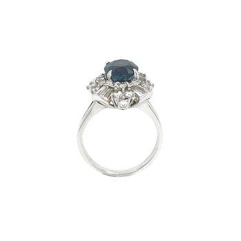 18k Vintage Sapphire Ring