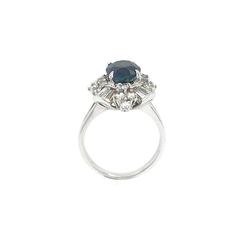 Adam K. 18k Vintage Sapphire Ring