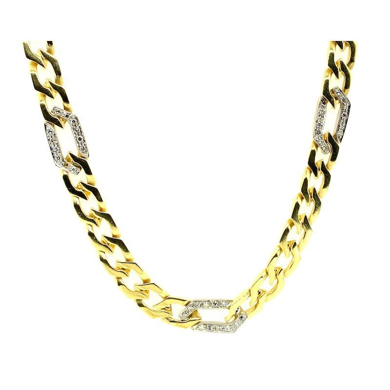 Adam K. 18k Diamond Necklace