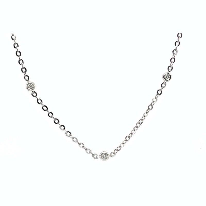 Quality Color Design 14k Diamond Necklace