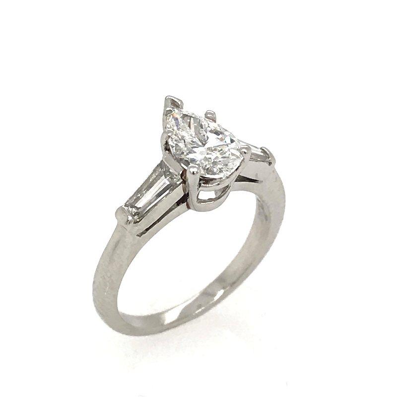 Stuller Pear Shaped Diamond Engagement Ring