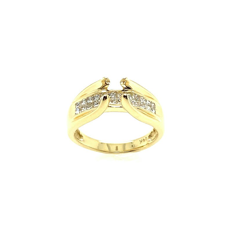 Adam K. 14k Semi Mount Engagement Ring