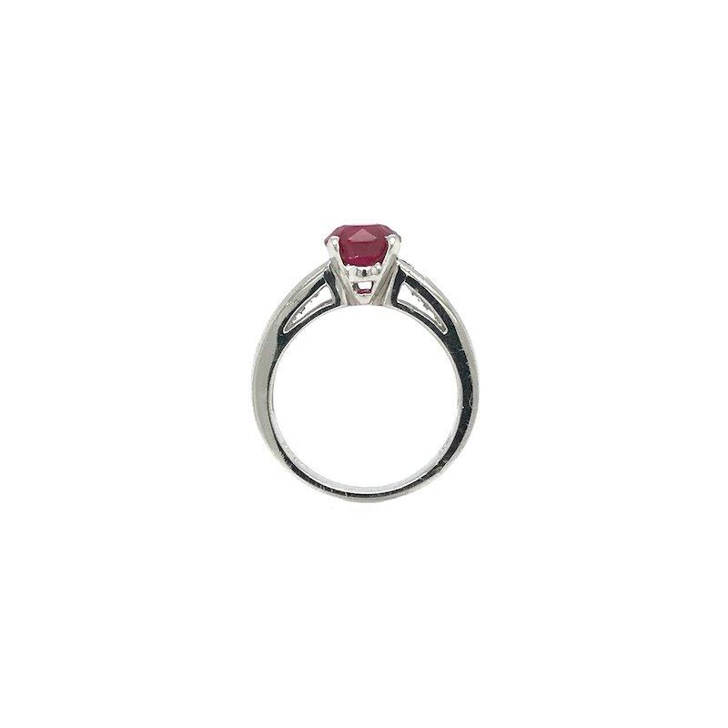 Adam K. Ruby & Diamond Ring