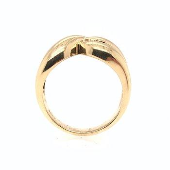 14k Baguette Diamond Ring