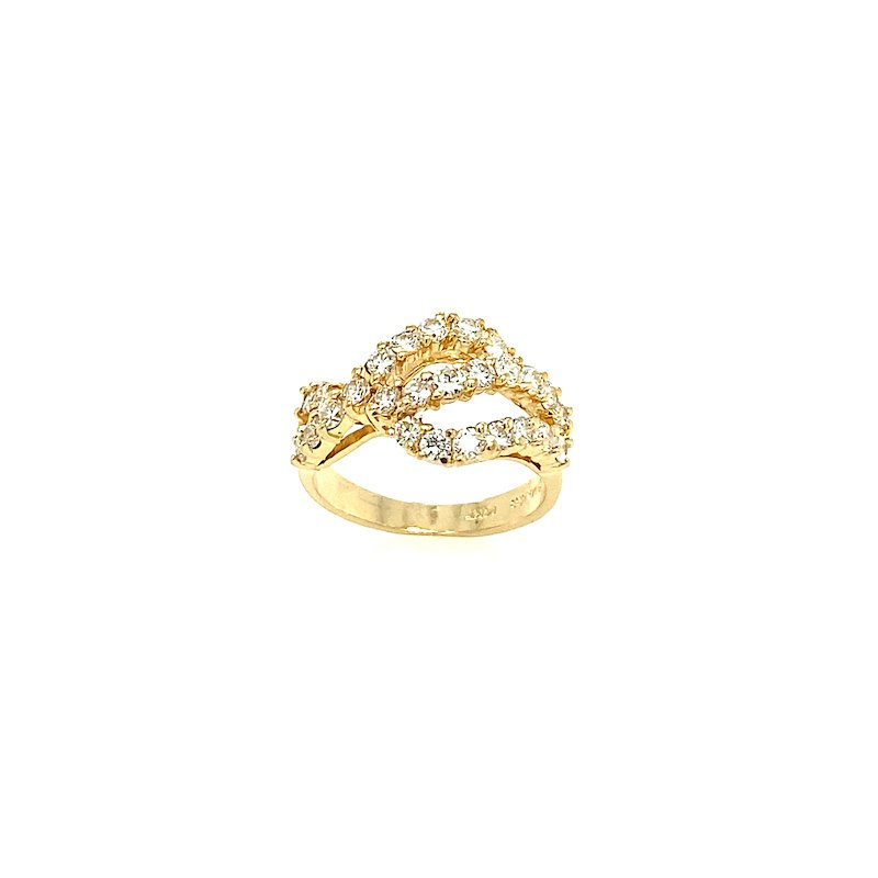 Adam K. 14k Diamond Ring
