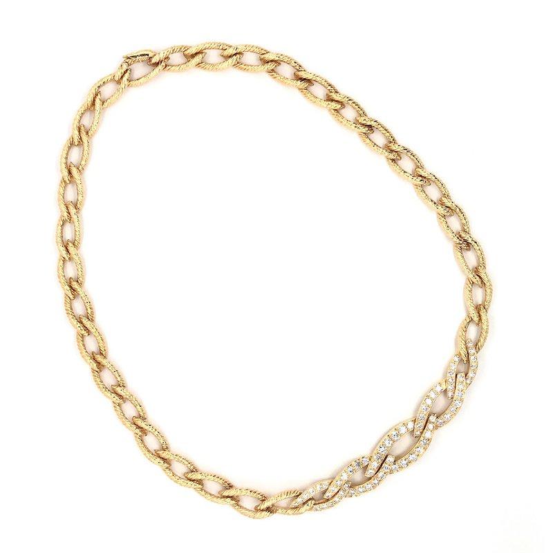 Van Cleef & Arpels Vintage Van Cleef & Arpels Diamond Necklace