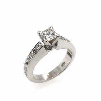 Certified Diamond Engagement Ring