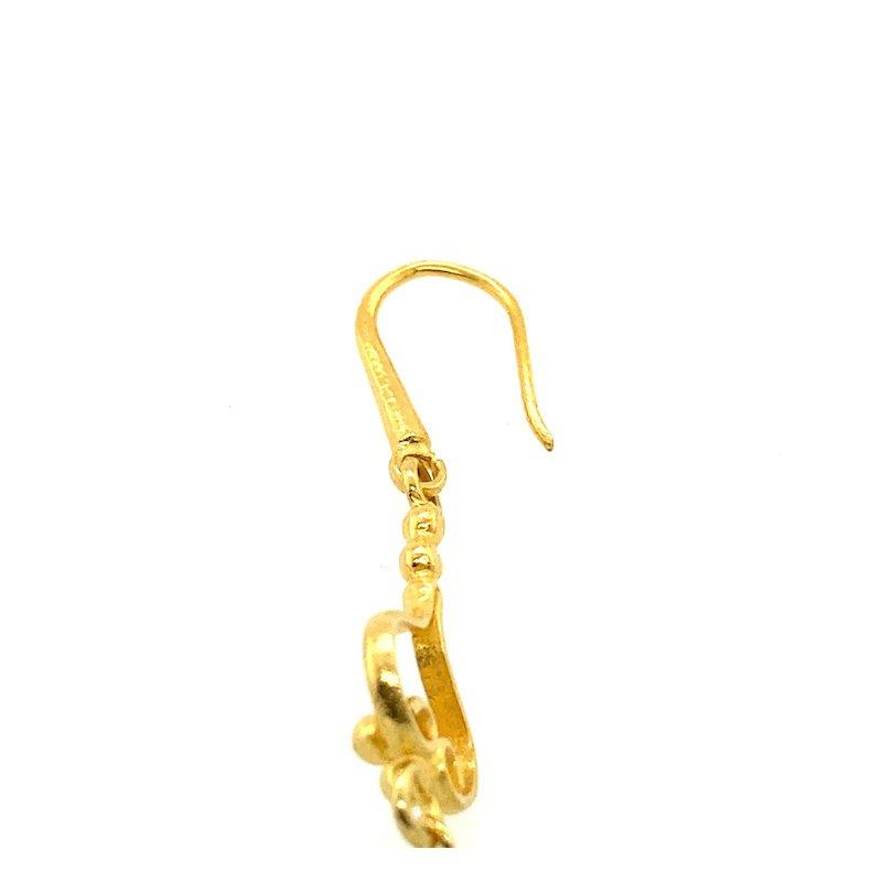 Adam K. 18k Aquamarine Earrings