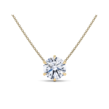 0.30ct Floating Diamond Necklace