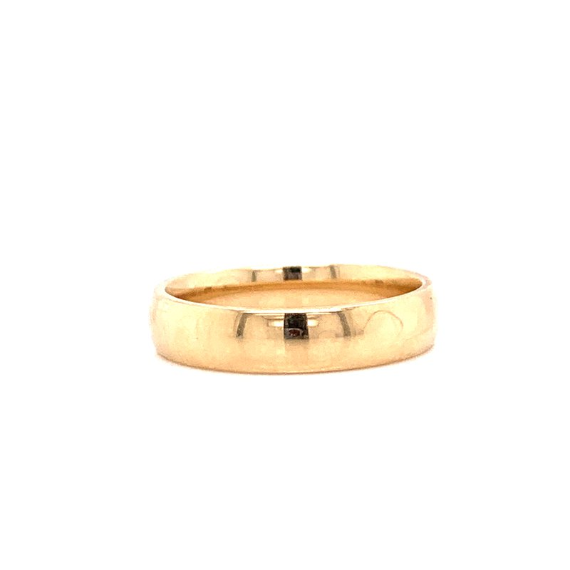 Corinth Collections  10K Yellow Gold 4mm Polished Band