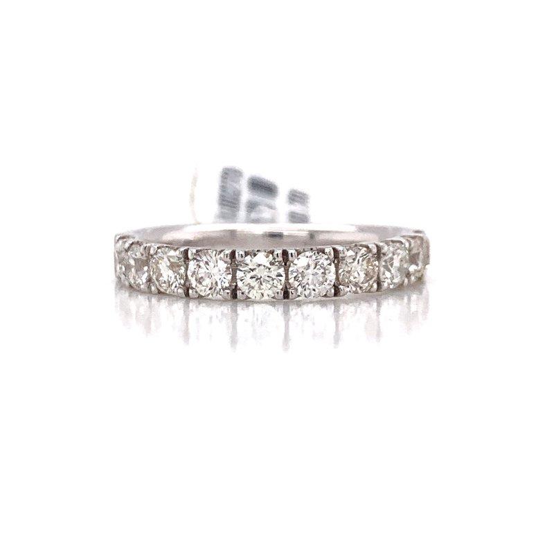 Corinth Collections  14K White Gold Round Diamond Band