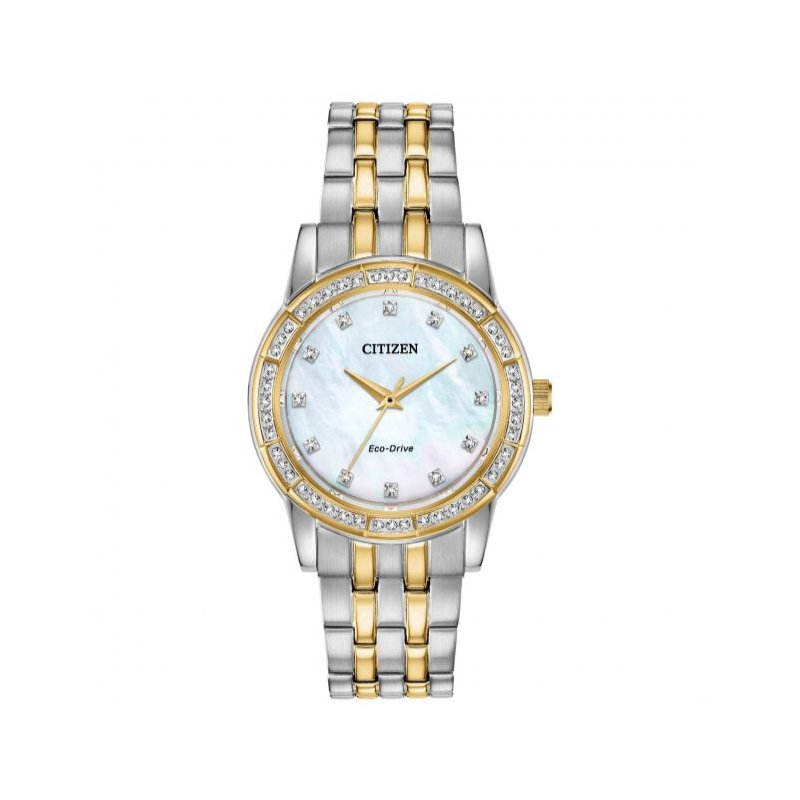 Citizen Ladies Two Tone Mother of Pearl Face Watch
