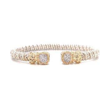 Vahan Square Diamond Cuff