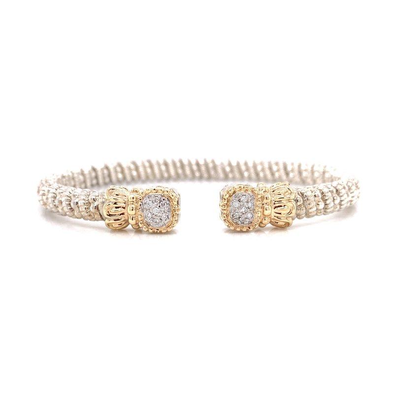 Corinth Collections  Vahan Square Diamond Cuff