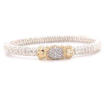 Vahan Pavè Diamond Oval Bracelet
