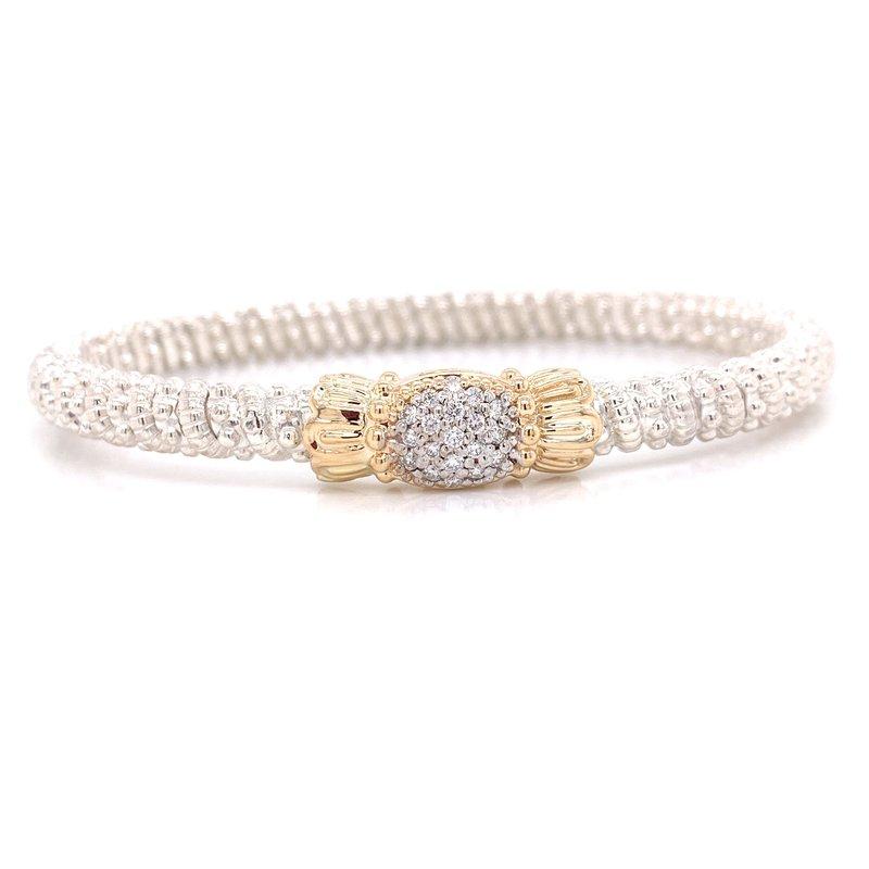 Corinth Collections  Vahan Pavè Diamond Oval Bracelet