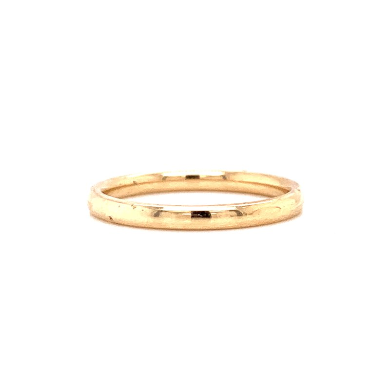 Corinth Collections  10K Yellow Gold 2mm Polished Band