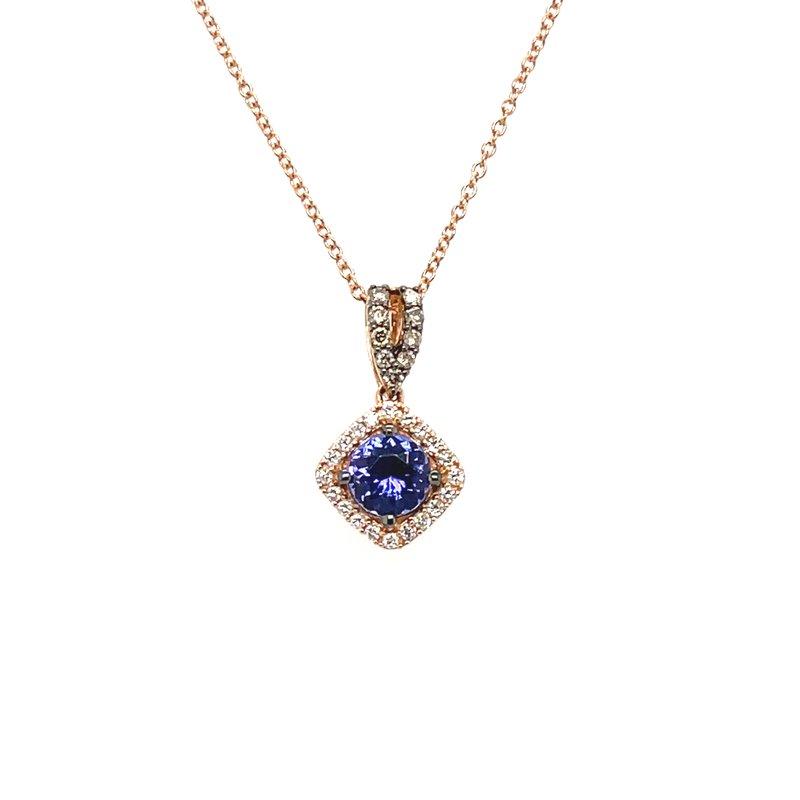 Le Vian Levian Diamond & Blueberry Tanzanite Pendant