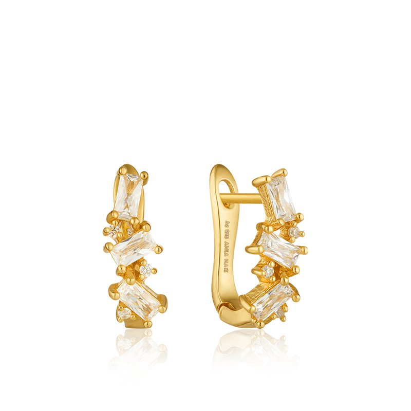 Ania Haie Cluster Huggie Earrings