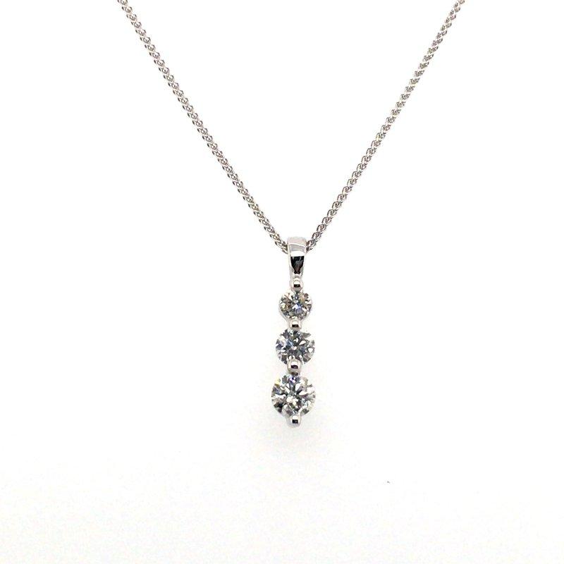Gems One Round Diamond Pendant