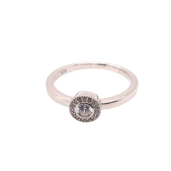 Kelly Waters Micropave Round Simulated Diamonds Ring
