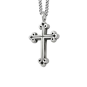 Medium Traditional Cross Pendant