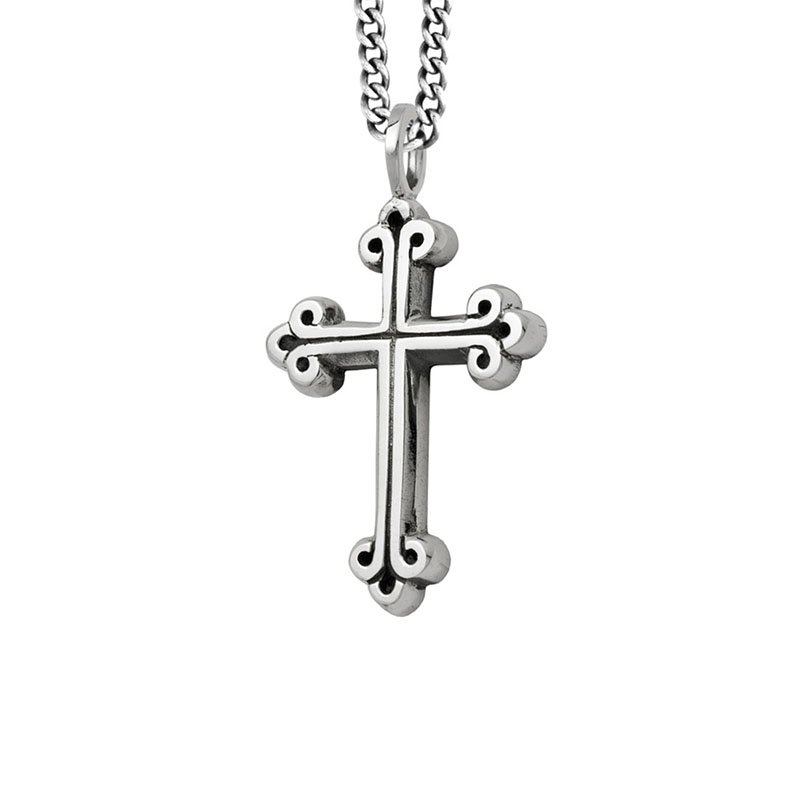 King Baby Medium Traditional Cross Pendant
