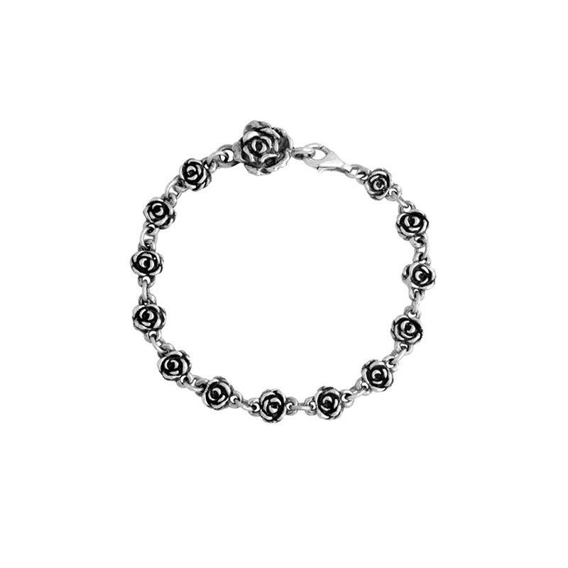King Baby Rose Motif Bracelet