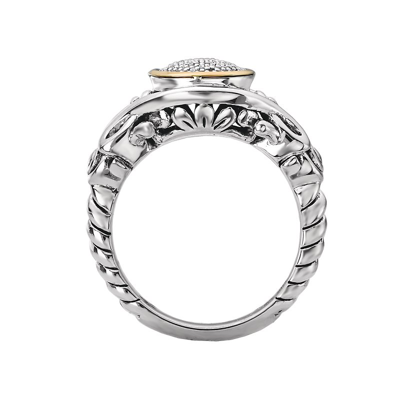 Kim International Eleganza Ladies Fashion Diamond Bezel Setting Ring