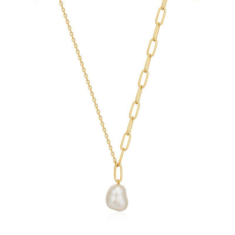 Ania Haie Pearl Chunky Necklace