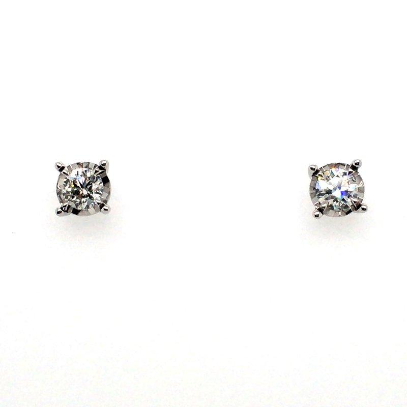 Gems One Diamond Stud Earrings