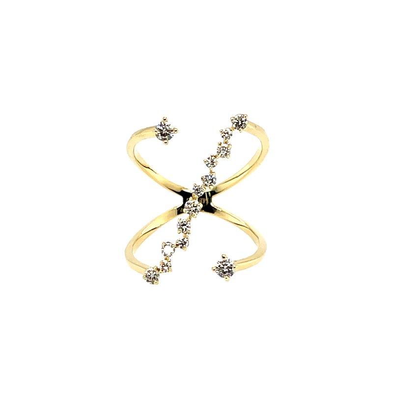 Variety Gem Diamond fashion ring