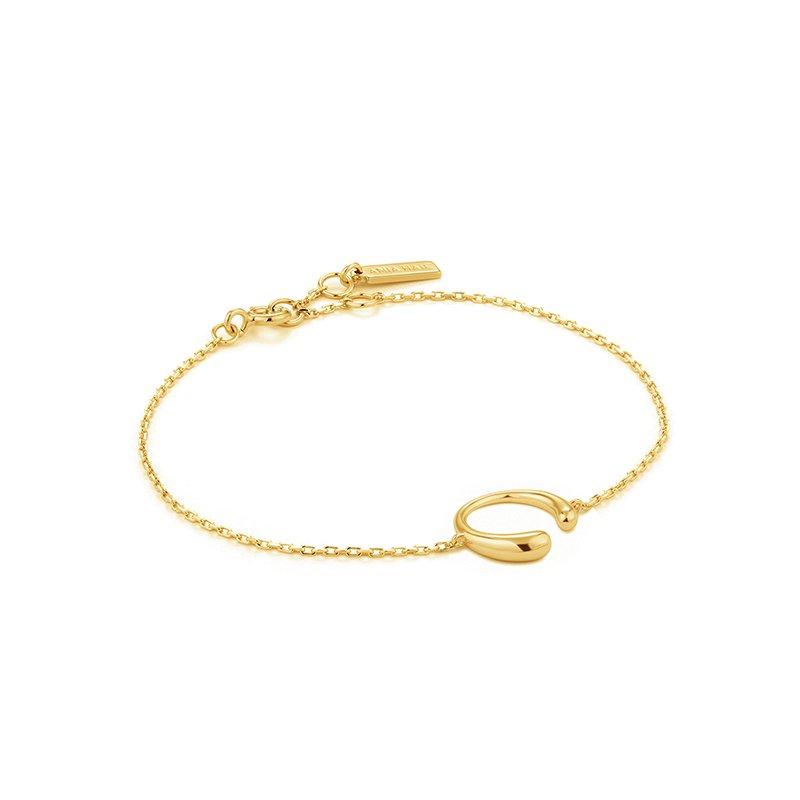 Ania Haie Luxe Curve Bracelet