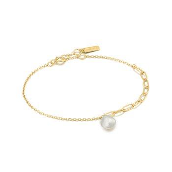 Pear Chunky Bracelet