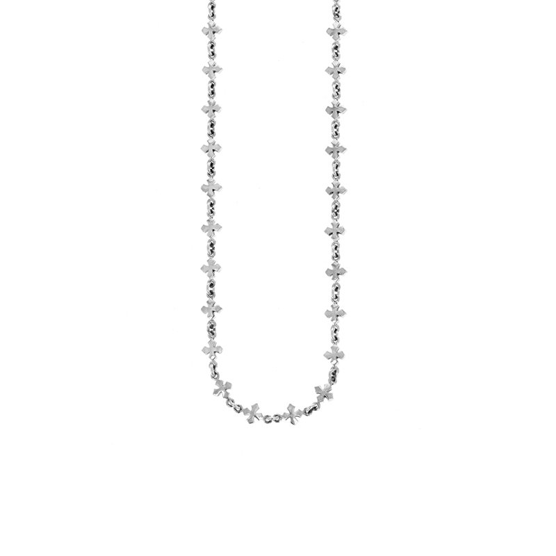 King Baby Small MB Cross Chain Necklace