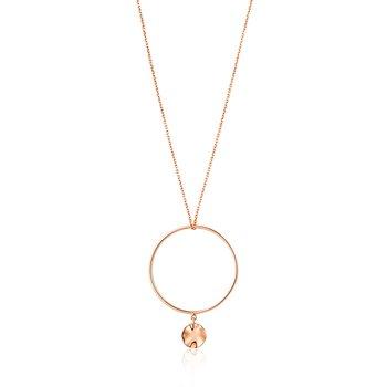 Ripple Circle Necklace