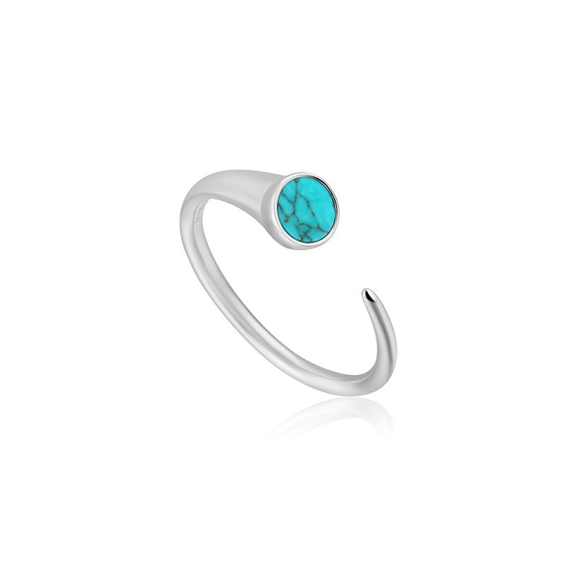 Ania Haie Turquoise Claw Adjustable Ring