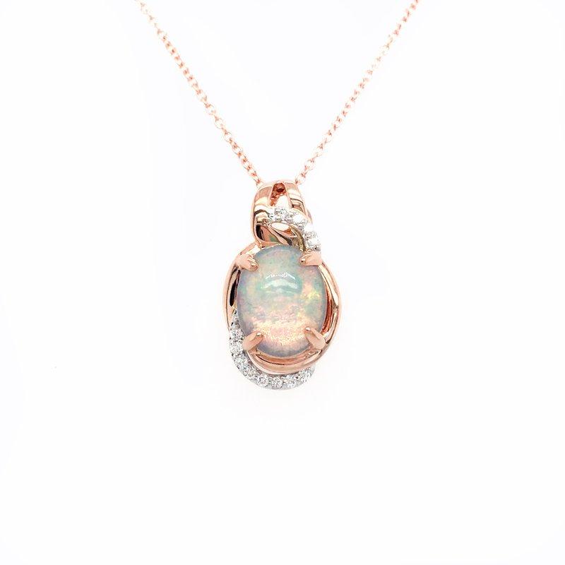 Le Vian Le Vian Two Tone Neopolitan Opal Pendant With Vanilla Diamonds®