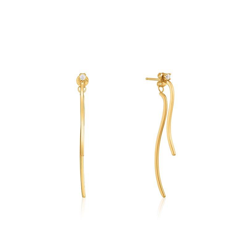 Ania Haie Curve Drop Bar Ear Jackets